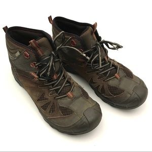 11e5d4ceaab Merrell Boys 6.5 Capra Mid Waterproof Hiking Boots